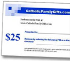 Catholic Gift Certificates
