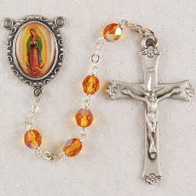 Our Lady Of Guadalupe Patron Saint Rosary