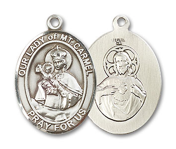 Our Lady Of Mt Carmel Medal 19140