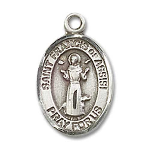 st francis of assisi charm 19233 medal