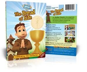 The Bread of Life, Brother Francis DVD & Coloring Book Set