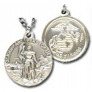 Joan of Arc - US Marines Medal