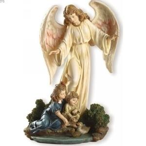 Guardian Angel with Child - Statue   33043 Guardian Angel Statues Figurines