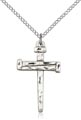 Nail Cross Necklace