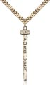 Gold Filled Forgiven Nail Necklace #86856