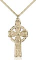 Gold Filled Kilklispeen Cross Necklace #86937