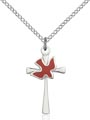 Holy Spirit Cross Necklaces