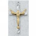 Risen Christ Crucifix in Sterling Silver (Large)