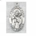 St. Francis of Assisi Medal in Sterling Silver