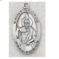 St. George Medal in Sterling Silver
