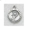 St. Clare Medal in Sterling Silver #15411