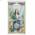St. Cecilia Pendant and Prayer Card Set