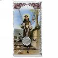St. Francis Pendant and Prayer Card Set