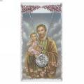 St. Joseph Pendant and Prayer Card Set