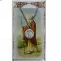 St. Peter Pendant and Prayer Card Set