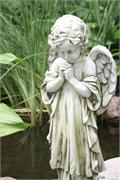 Young Praying Angel Garden Figure