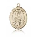St. Louis Medal - 14 KT Gold - Large, Engravable  (#82143)