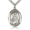 St. Louis Medal - Sterling Silver - Large, Engravable  (#82144)