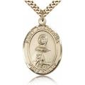St. Anastasia Medal - Gold Filled - Large, Engravable  (#82478)