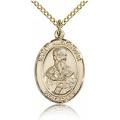 St. Alexander Sauli Medal - Gold Filled - Medium, Engravable  (#83299)