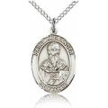 St. Alexander Sauli Medal - Sterling Silver - Medium, Engravable  (#83301)