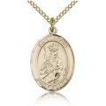 St. Louis Medal - Gold Filled - Medium, Engravable  (#83508)