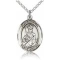 St. Louis Medal - Sterling Silver - Medium, Engravable  (#83510)