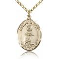 St. Anastasia Medal - Gold Filled - Medium, Engravable  (#83850)