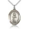 St. Anastasia Medal - Sterling Silver - Medium, Engravable  (#83852)
