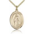 St. Odilia Medal - Gold Filled - Medium, Engravable  (#84099)