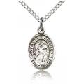 St. Gabriel the Archangel Charm - Sterling Silver (#84579)