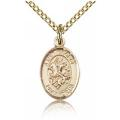 St. George Charm - Gold Filled (#84580)