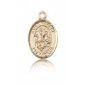 St. George Charm - 14 KT Gold (#84581)