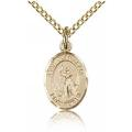 St. Joan of Arc Charm - Gold Filled (#84616)
