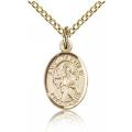 St. Matthew the Apostle Charm - Gold Filled (#84679)