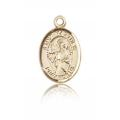 St. Matthew the Apostle Charm - 14 KT Gold (#84680)