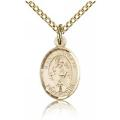 St. Nicholas Charm - Gold Filled (#84697)