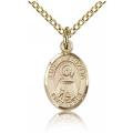 St. Anastasia Charm - Gold Filled (#85039)