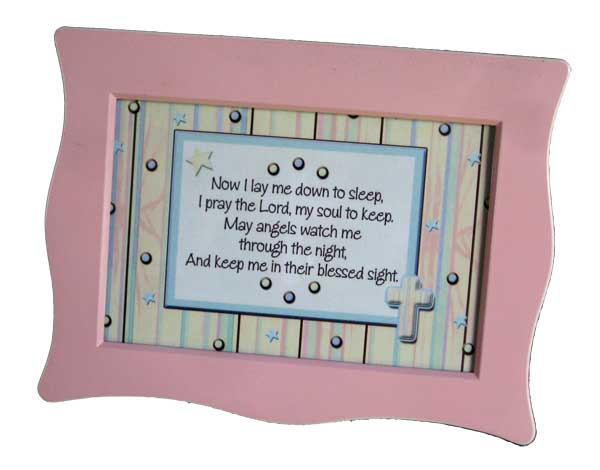 Night Prayer Music Box, Pink (M)