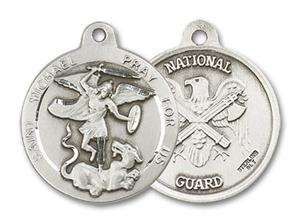 St. Michael - US National Guard Medal