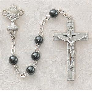 Hematite Communion Rosary