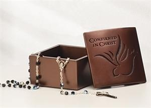 Confirmation Rosary Box - Qty 6 or More