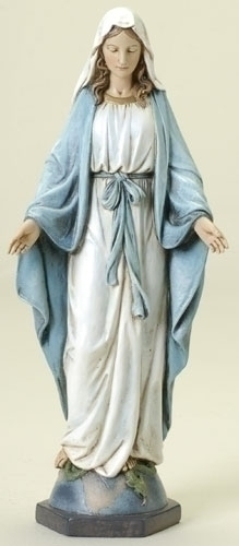 Our Lady of Grace Statue 10 inch