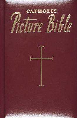 Catholic Picture Bible - Red - Imprintable
