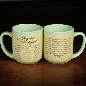 Footprints in the Sand' Mug
