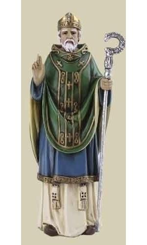 St Patrick Statue - 4 in. scale
