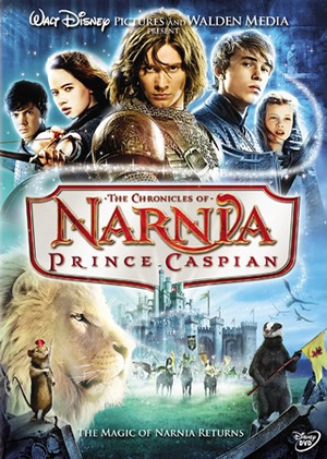 The Chronicles of Narnia: Prince Caspian DVD