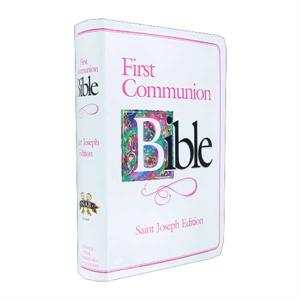 First Communion Bible - Girl-Qty 6 or more