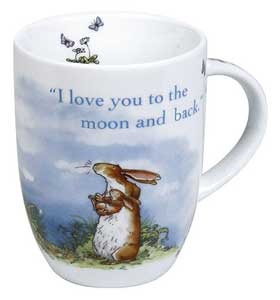 I Love You to the Moonand Back Mug