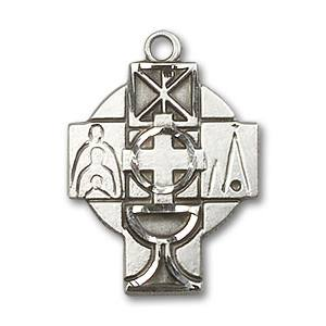 First Communion Medal - Cross